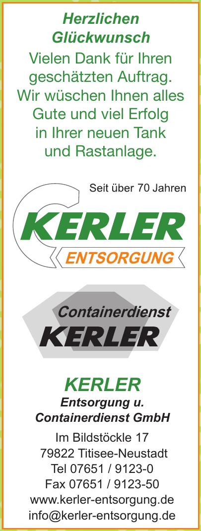 Kerler Entsorgung u. Containerdienst GmbH