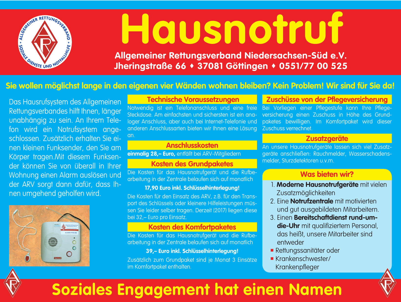 Allgemeiner Rettungsverband Niedersachsen-Süd e.V.