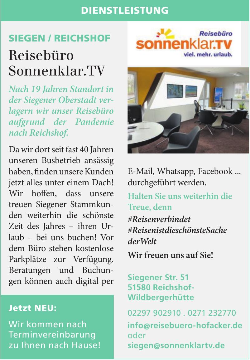 Reisebüro Sonnenklar.TV