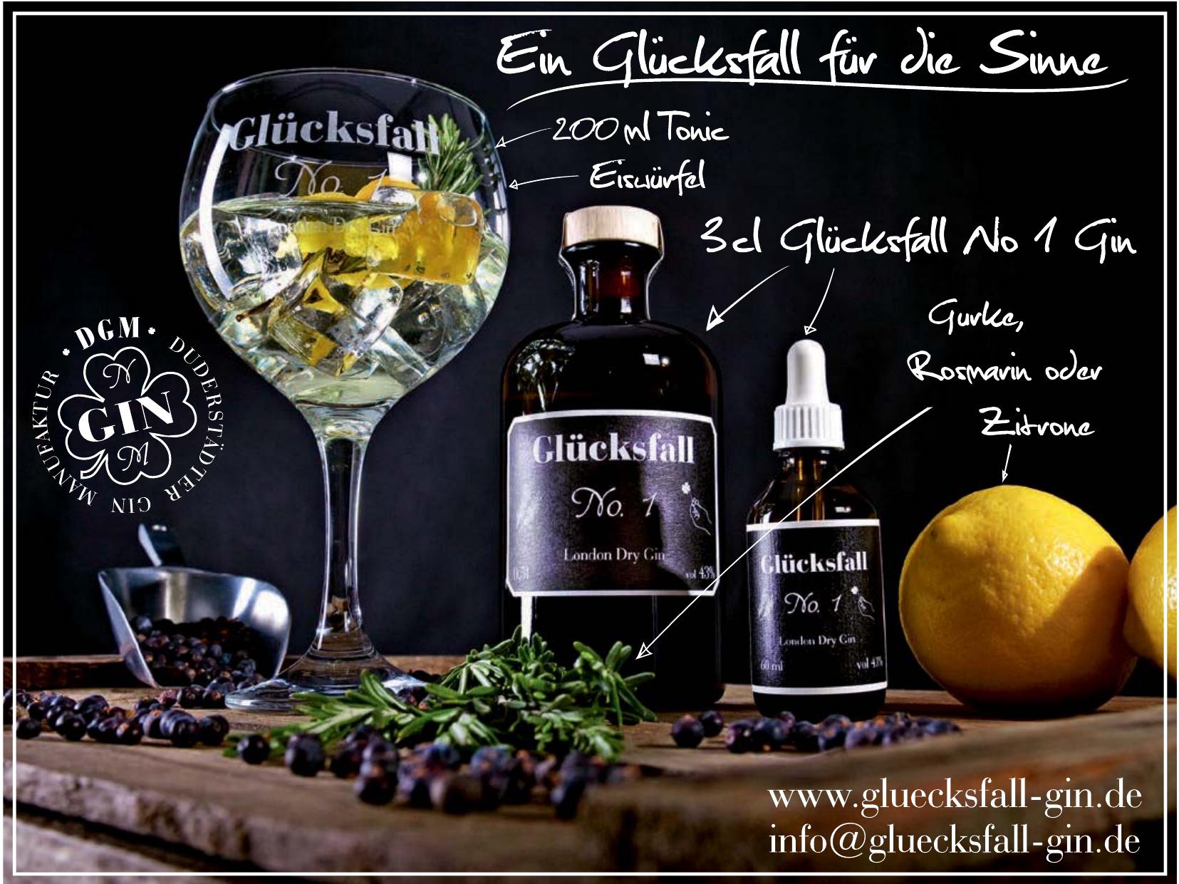 Glücksfall Gin