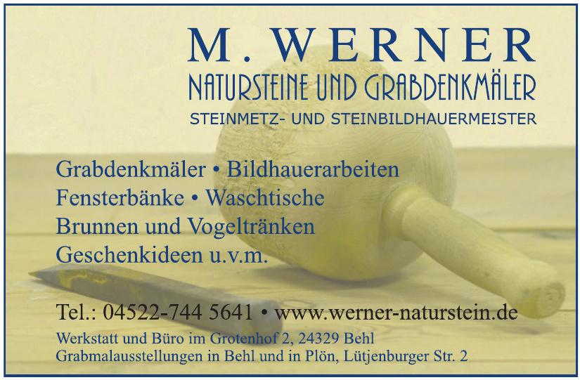 M. Werner Natursteine & Grabdenkmäler