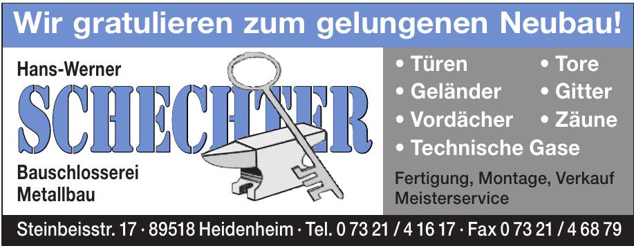 Hans-Werner Schechter