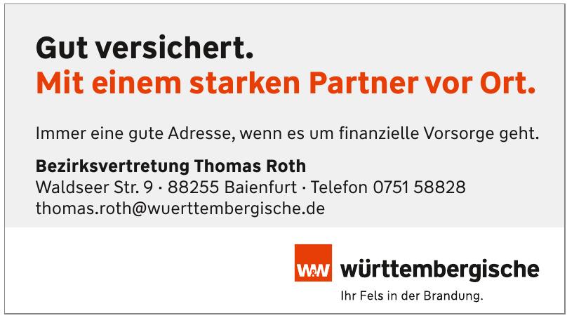 Bezirksvertretung Thomas Roth