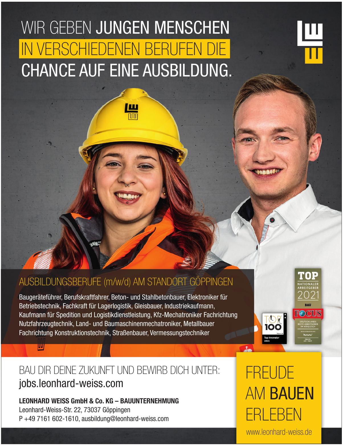 Leonhard Weiss GmbH & Co. KG – Bauunternehmung