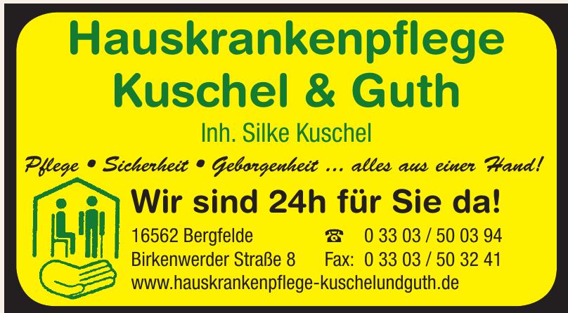 Hauskrankenpflege Kuschel & Guth