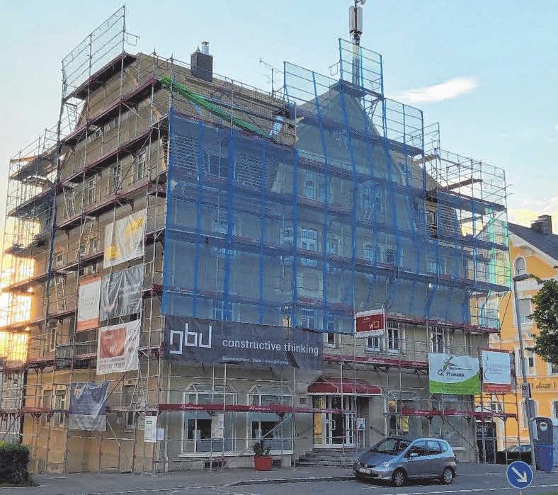 Das rund 90 Jahre alte Haus in der Friedrichshafener Straße 15 in Lindau wurde in den vergangenen Monaten aufwendig saniert.FOTO: IMANUEL MENAHEMI