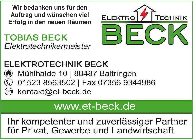 Elektrotechnik Beck