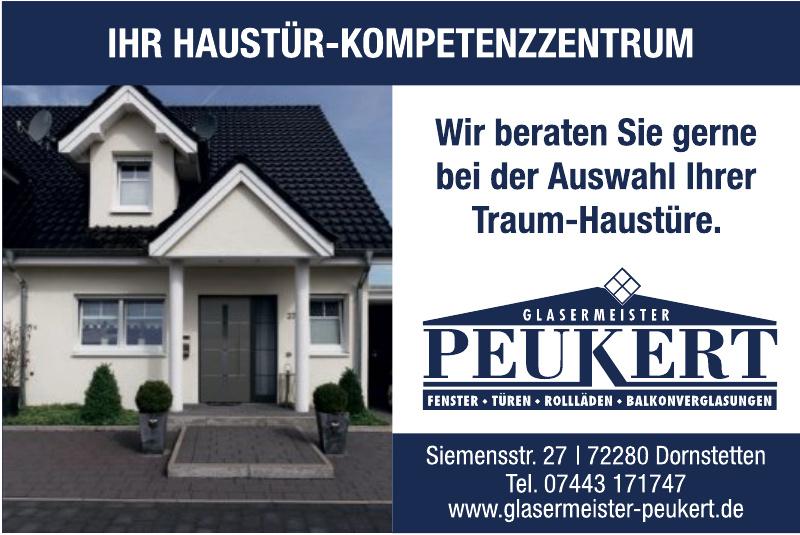 Glasermeister Peukert