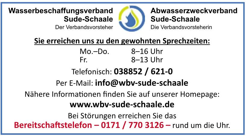 WBV Wasserbeschaffungsverband Sude-Schaale