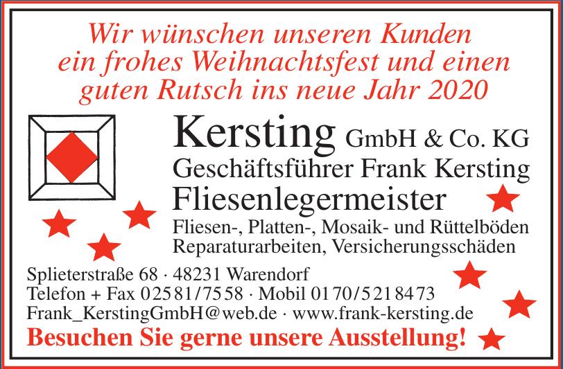 Kersting GmbH & Co. KG