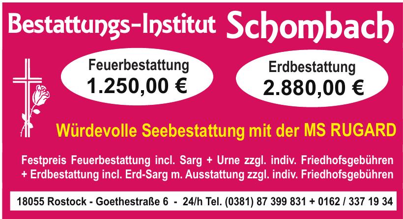 Bestattungen Schombach