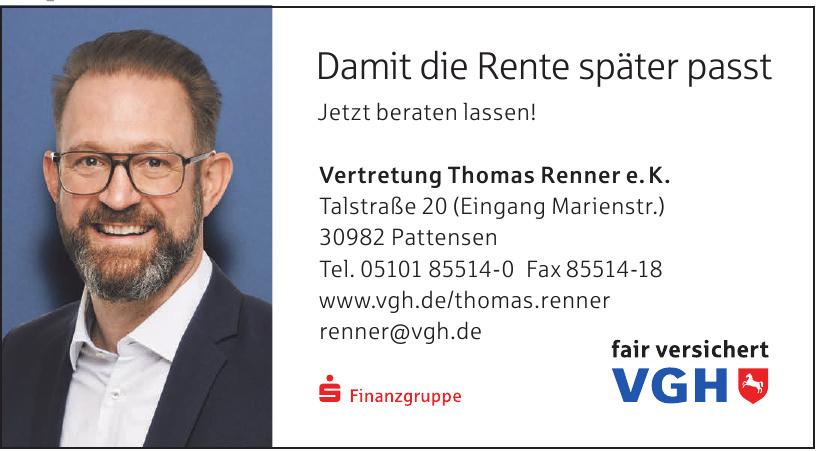 VGH Vertretung Thomas Renner e.K.