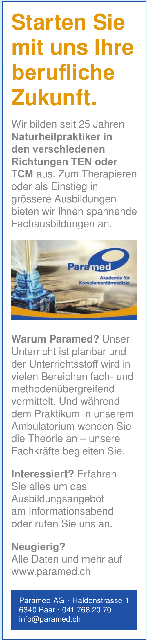 Paramed Akademie AG