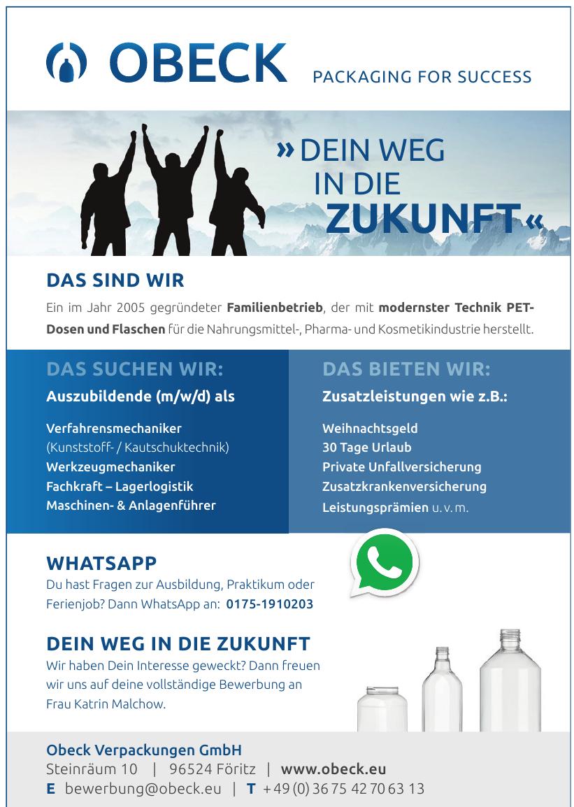 Obeck Verpackungen GmbH