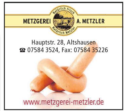 Metzgerei Metzler