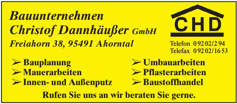 Bauunternehmen Christof Dannhäußer GmbH
