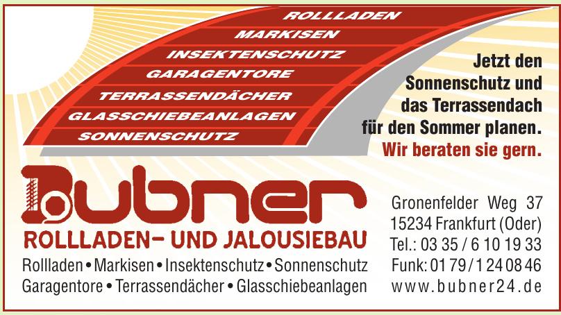 Bubner