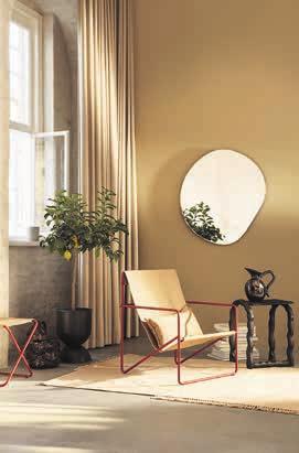 7 Passt überall: der «Desert Lounge Chair» von Ferm Living mit Textilsitzfläche aus recyceltem Plastik. (fermliving.com)