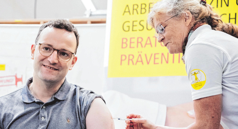 Gesundheitsminister Jens Spahn will mehr Impfungen. FOTO: DPA/ CHRISTOPH SÖDER