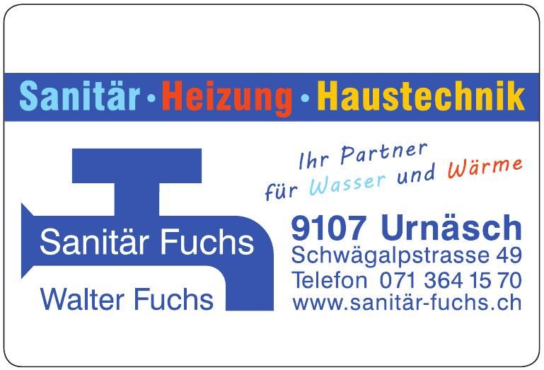 Sanitär Fuchs - Walter Fuchs