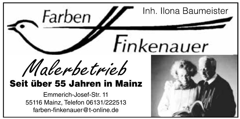 Farben Finkenauer Malerbetrieb
