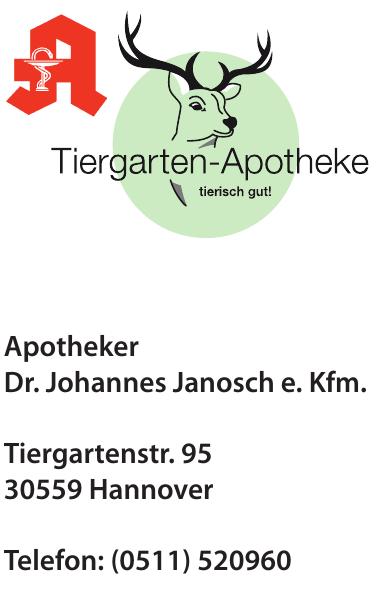 Tiergarten-Apotheke Apotheker Dr. Johannes Janosch e. Kfm.