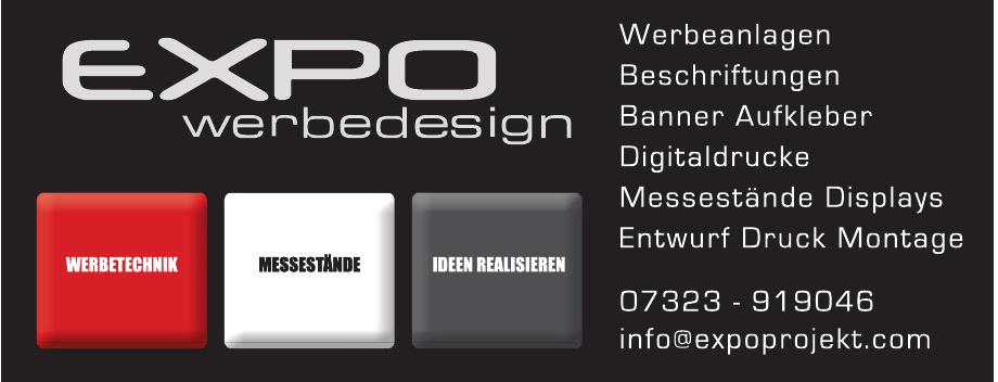 Expo Werbedesign