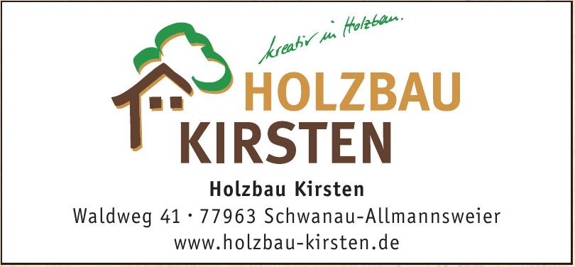 Holzbau Kirsten