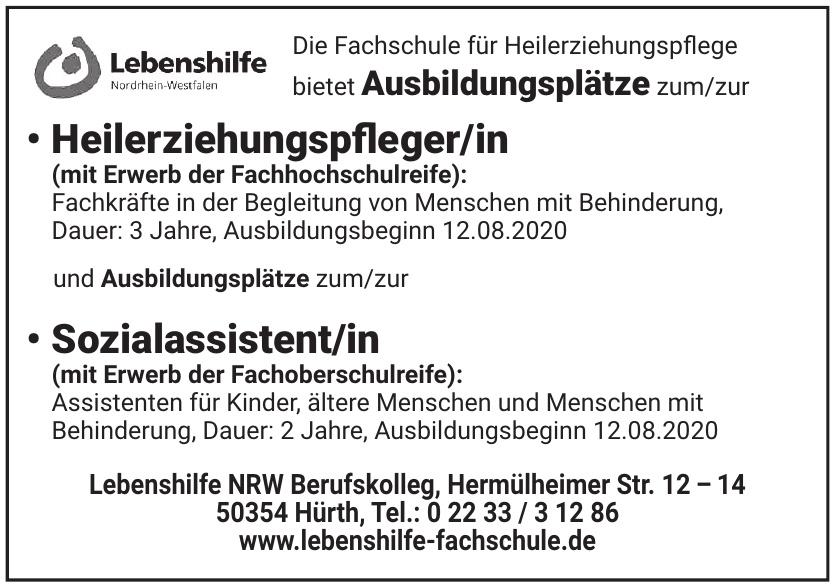 Lebenshilfe NRW Berufskolleg