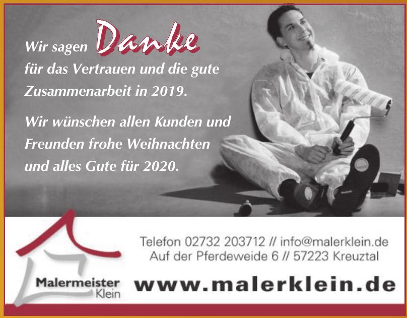 Malermeister Klein