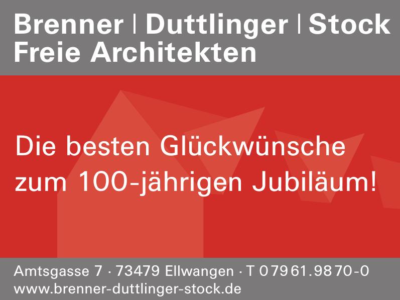 Brenner / Duttlinger / Stock Freie Architekten