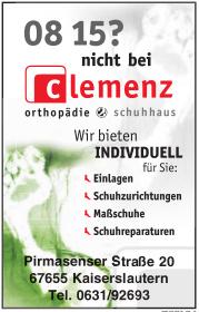Clemenz Orthopädie & Schuhhaus