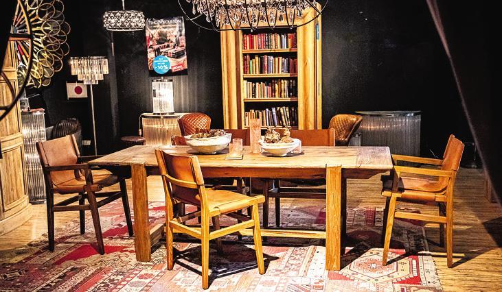 Aktuelle Einblicke in das Sortiment der Wäscherei: Möbel von Timothy Oulton Foto: Die Wäscherei