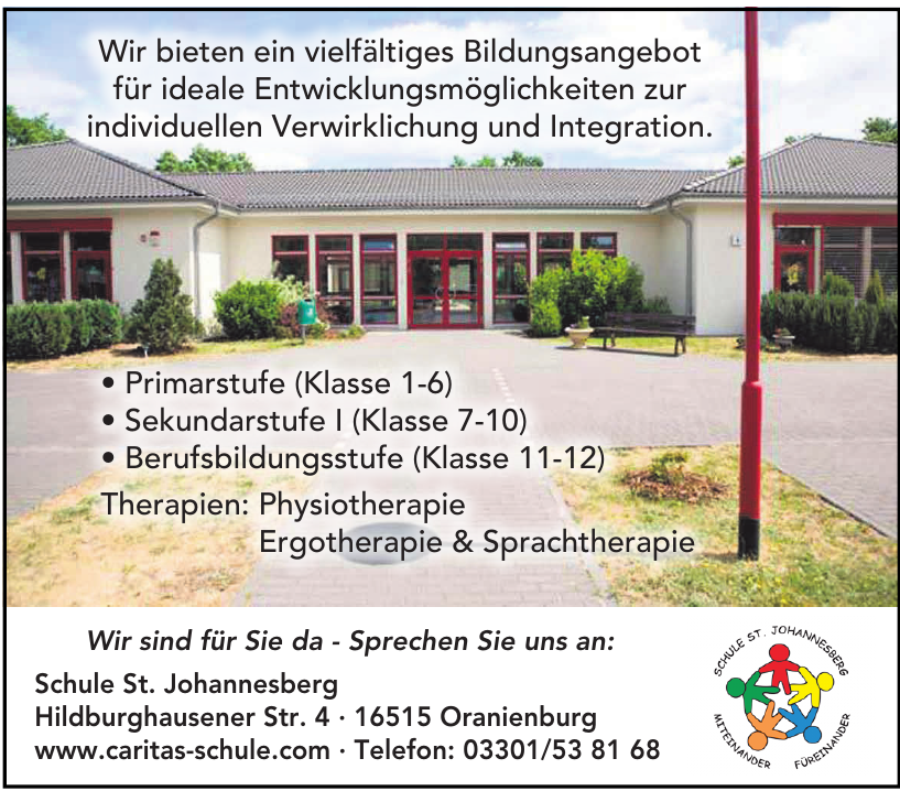Schule St. Johannesberg