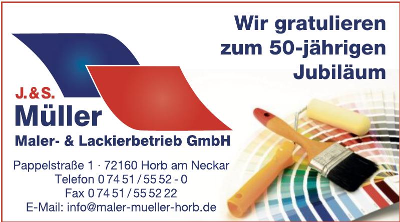 J. & S. Müller Maler- & Lackierbetrie GmbH