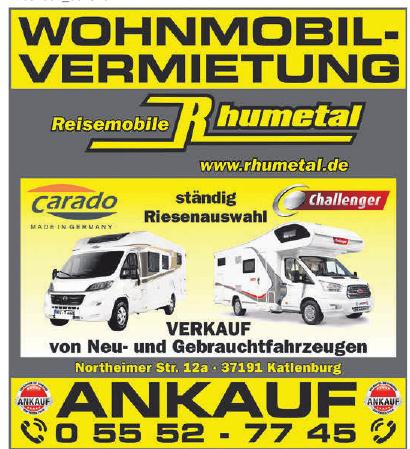 Reisemobil Rhumetal