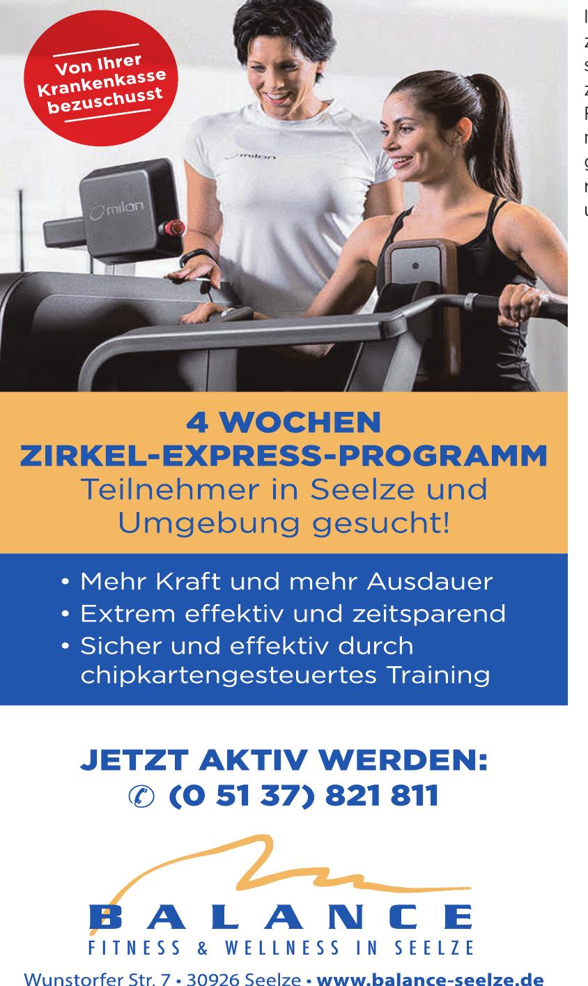 Balance Fitness & Wellness in Seelze