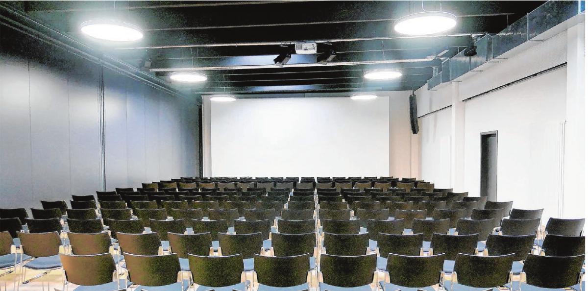 Es gibt jetzt auch einen Vortrags- und Versammlungsraum