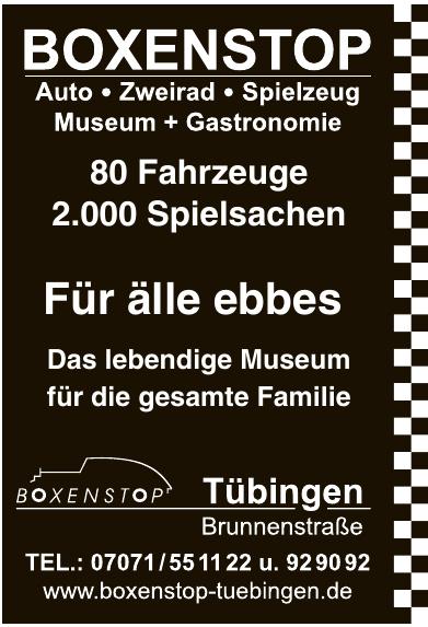 Boxenstop Museum