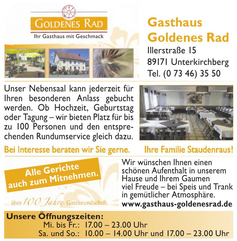 Gasthaus Goldenes Rad