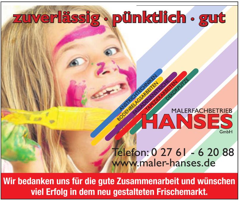 Malerfachbetrieb Hanses GmbH