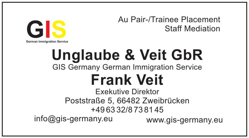 Unglaube & Veit GbR, GIS-Germany German Immigration Service