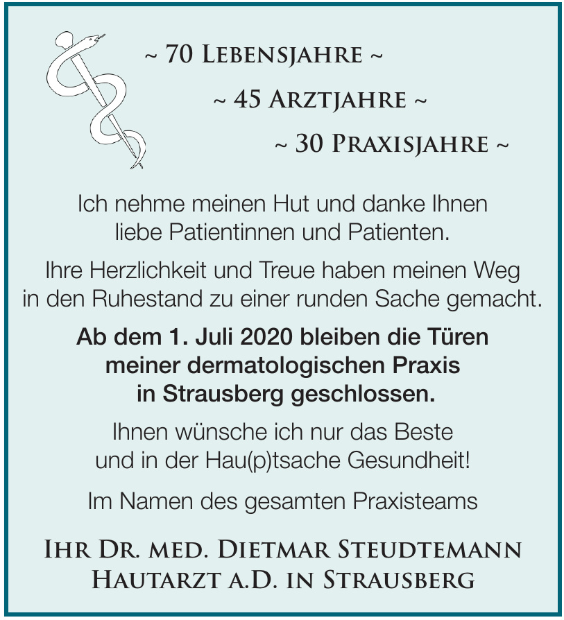 Dr. med. Dietmar Steudtemann