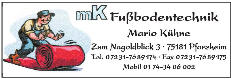 MK Fußbodentechnik Mario Kühne