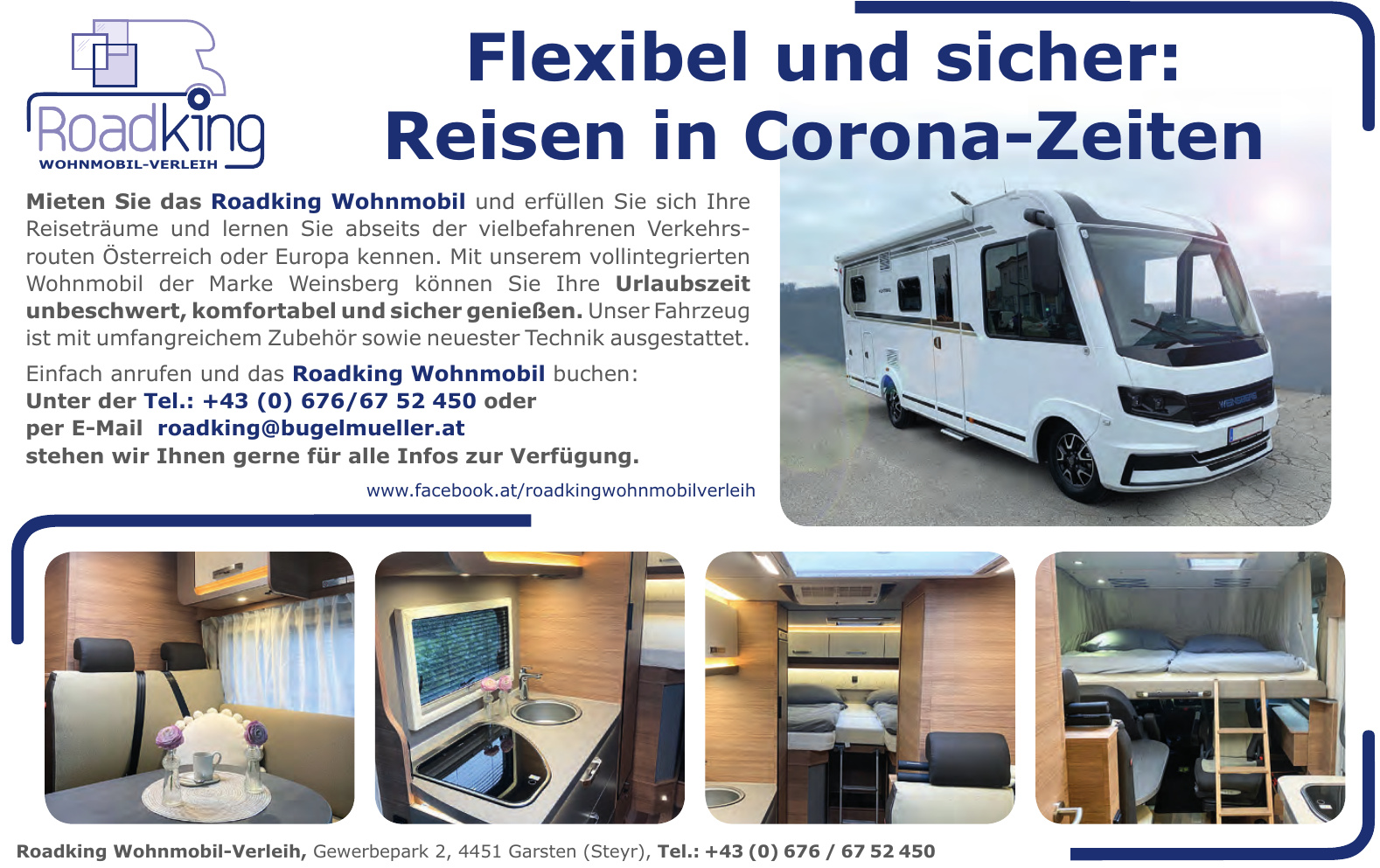 Roadking Wohnmobil-Verleih