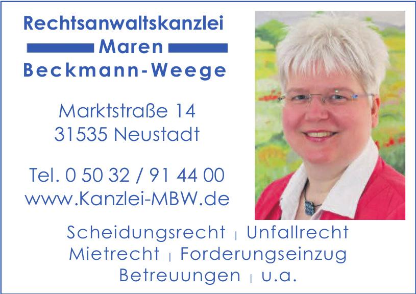 Rechtsanwaltskanzlei Maren Beckmann-Weege