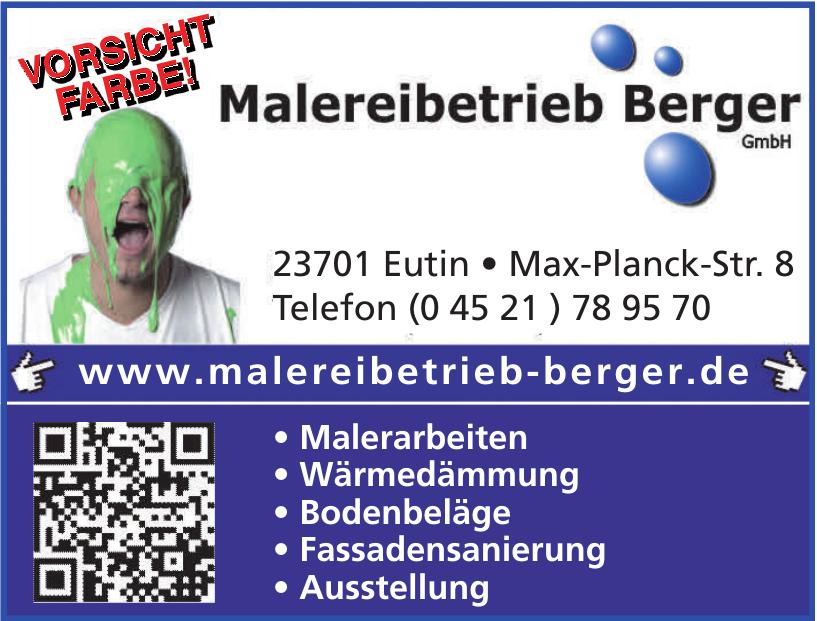 Malereibetrieb Berger GmbH