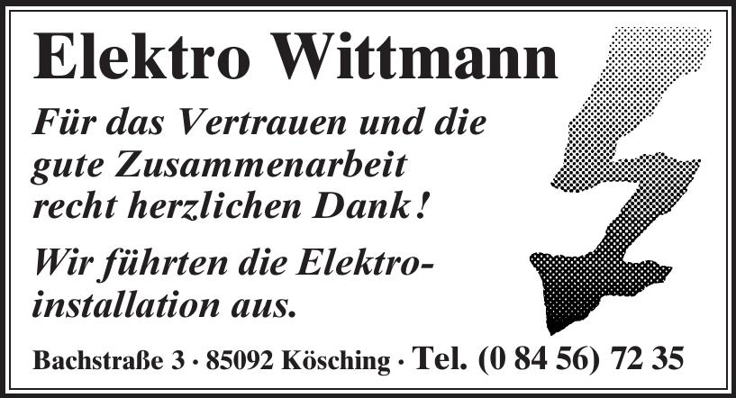 Elektro Wittmann