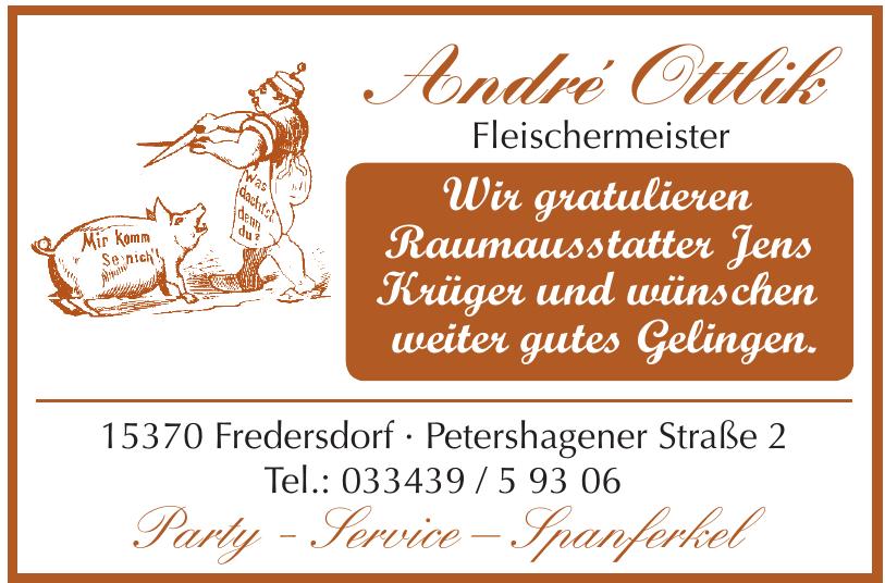 André Ottlik Fleischermeister