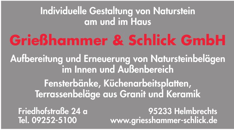 Grießhammer & Schlick Steinmetz GmbH
